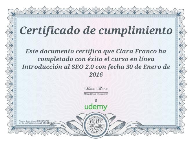 CertificadointroducciónSEO